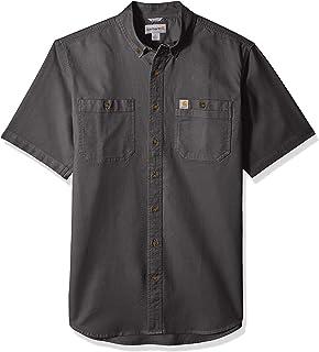 Men's Big and Tall Big & Tall Rugged Flex Rigby Short Sleeve Work Shirt
