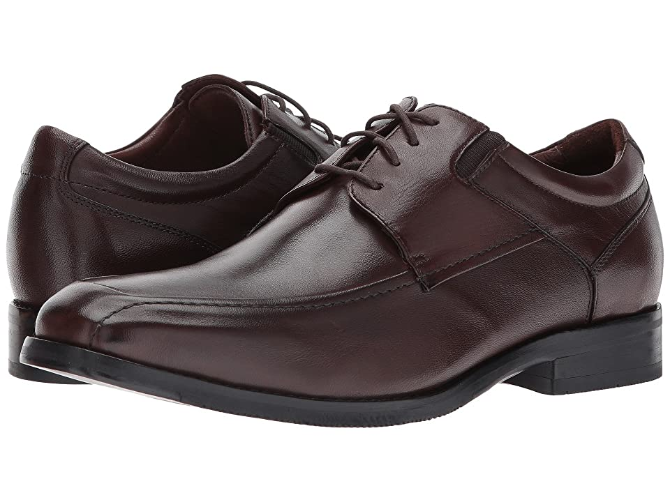 Johnston & Murphy Bartlett Moc Lace-Up (Brown Nappa) Men