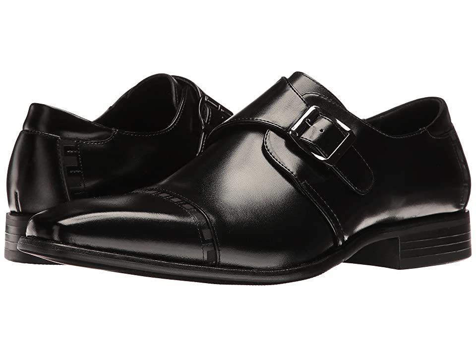 60s Mens Shoes | 70s Mens shoes – Platforms, Boots Stacy Adams Macmillian Black Mens Shoes $90.00 AT vintagedancer.com