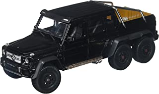 Welly Collection 1:24 2014 Mercedes-Benz G 63 AMG 6x6 Truck Diecast Model Car, Black