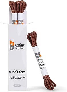 Best brown dress shoe laces Reviews