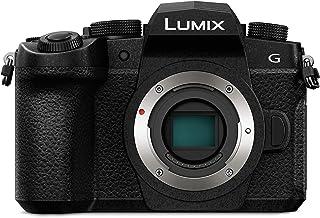 Panasonic DC-G91EG-K Systemkamera, 20 MP, Dual I.S., OLED Sucher, 4K Fotokamera, Staub-/Spritzwasserschutz, schwarz