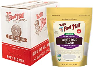 Bob's Red Mill Organic White Rice Flour, 96.0 Ounce