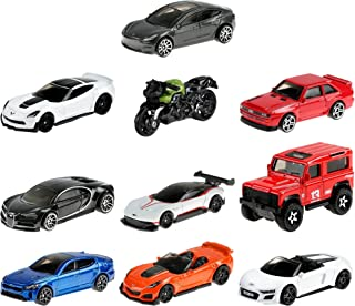 Hot Wheels Factory Fresh 10 Pack Mini Collection, 10 1:64 Scale Themed Vehicles Each Highly Detailed with Stylish Design, ...