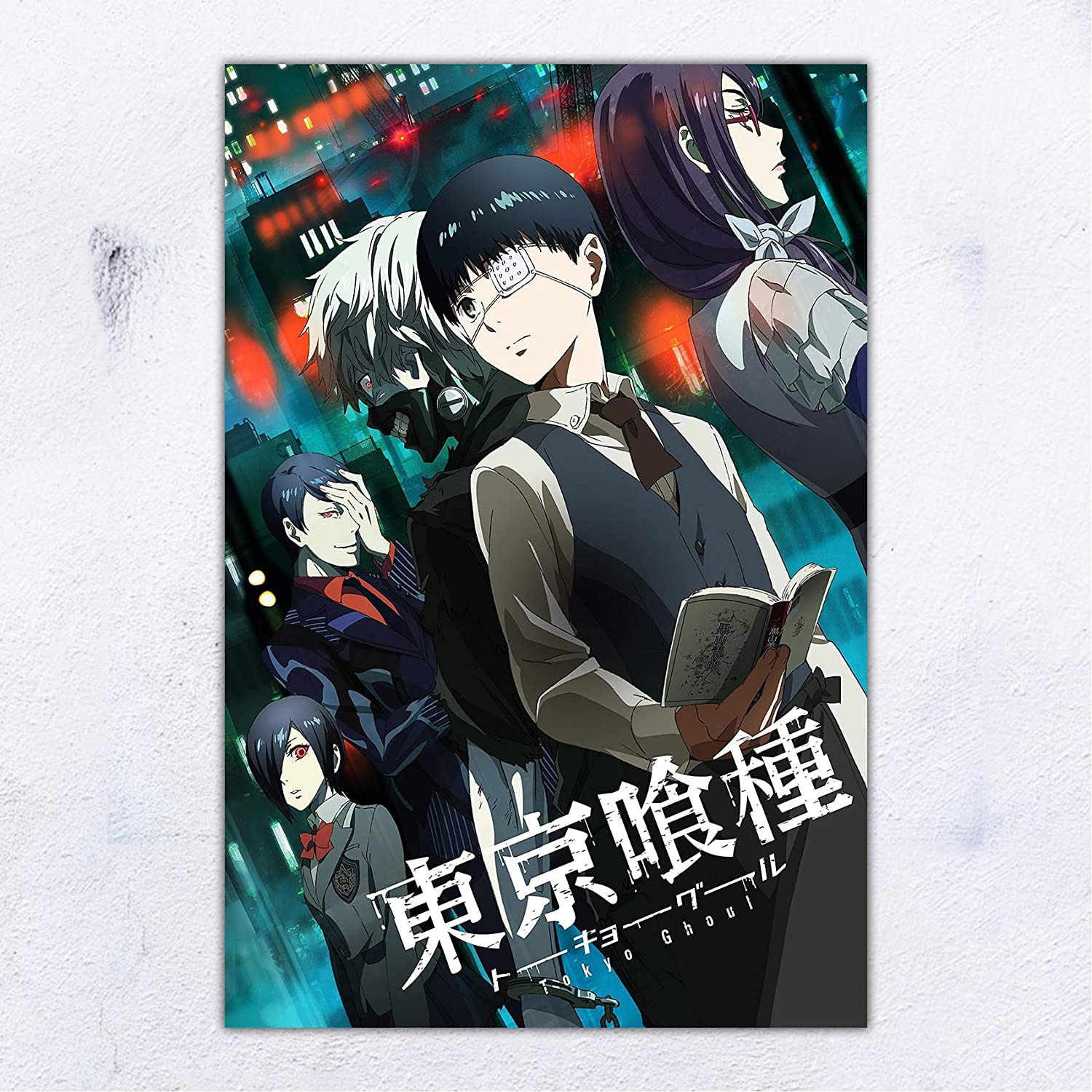 UpdateClassic Tokyo Ghoul nime Poster and Prints Unframed Wall Art Gifts Decor 11x17