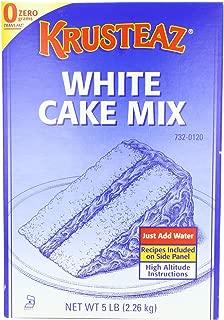 Krusteaz Cake Mix - White, 5-Pounds