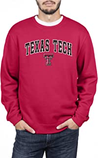 Elite Fan Shop NCAA Mens Crewneck Sweatshirt Applique Team Color Arch