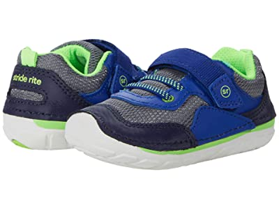 Stride Rite SM Rhett (Infant/Toddler) (Navy/Lime) Boys Shoes