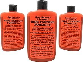 Deer Hunter's & Trapper's Hide & Fur Tanning Formula Multi Pack