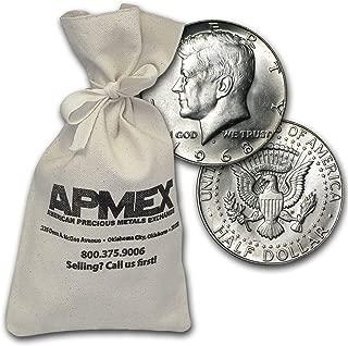 1965-1969 40% Silver Coins $500 Face Value Bag Avg Circ Silver Very Good