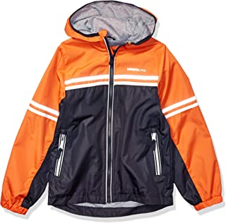 London Fog 男童胸部条纹涤纶内衬夹克