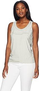 Amazon Brand - Lark & Ro Women's Scoop Neck Sleeveless Tank Top