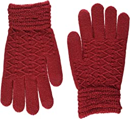 Lurex Zigzag iTouch Gloves