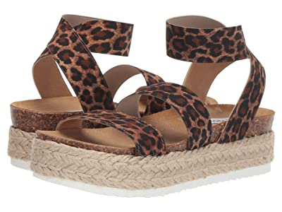 Steve Madden Kimmie Espadrille Sandal (Leopard) Women