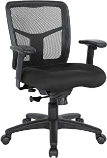 Office Star Products Managers Office Chair, Black