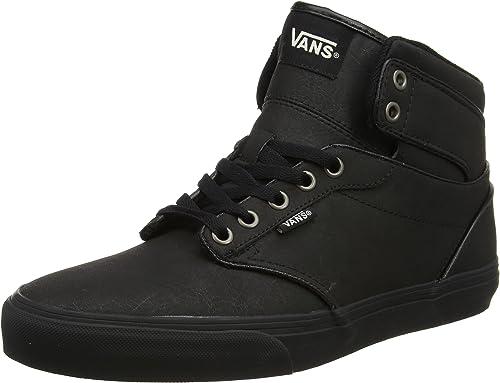 Vans Atwood Hi Seasonal, Baskets Homme, Noir (H17 Leather), 39 EU ...