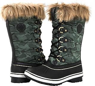 GLOBALWIN Women's 1837 Winter Snow Boots