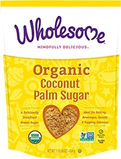 Wholesome Sweetners, Coconut Sugar, 1 lb