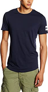 Jack & Jones Men's Jcoboro Tee Ss Crew Neck T-Shirt