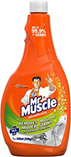 Mr Muscle Mold and Mildew Cleaner Refill, 500 ml