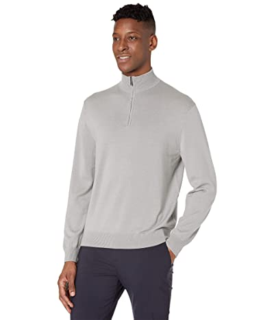 Callaway 1/4 Zip Easy Care Merino Sweater (Griffin Grey) Men