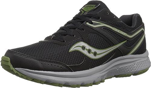 Saucony Hommes's Cohesion TR11 FonctionneHommest chaussures, noir vert, 7 Medium US