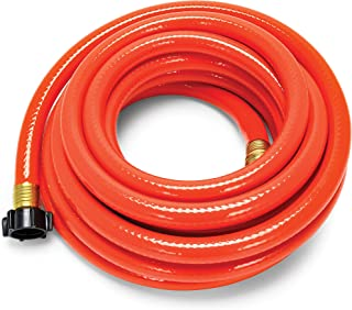 Camco 25ft RhinoFLEX Gray/Black Water Tank Clean Out Hose - Ideal For Flushing Black Water, Grey Water or Tote Tanks 5/8