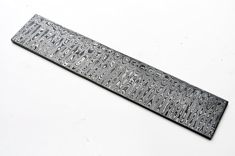 Damascus Ladder Billet Knife Making Knives Blank Blade Bar Steel Blanks Layers