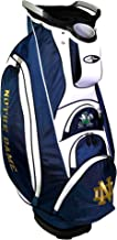 Team Golf NCAA Victory Golf Cart Bag, 10-way Top with Integrated Dual Handle & External Putter Well, Cooler Pocket, Padded...