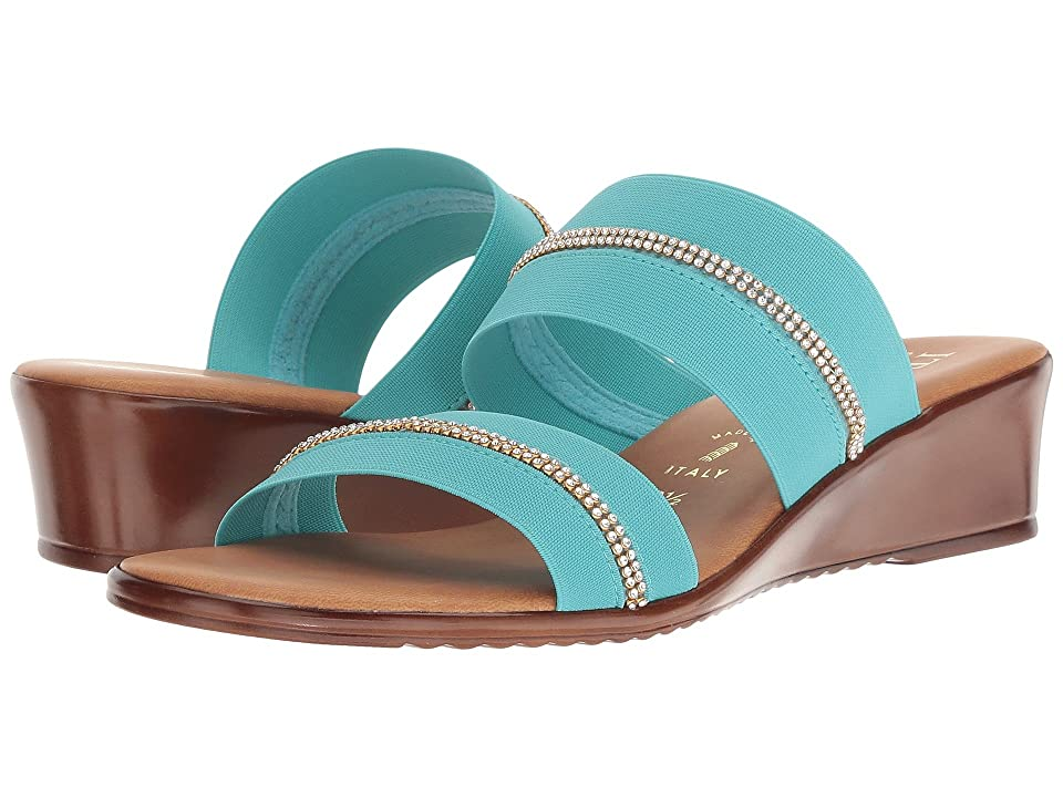 Italian Shoemakers 5815S8 (Turquoise) Women