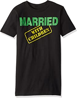 Married with Children Men's Mwc Logo Graphic T-Shirt
