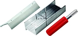 Excel Blades 55666 Small Mitre Box Kit with Heavy Duty K5 Handle and Razor Saw Blade