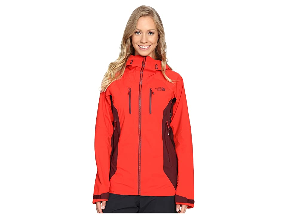 The North Face Dihedral Shell Jacket (High Risk Red/Deep Garnet Red (Prior Season)) Women