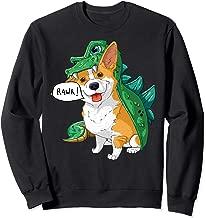 Corgi Dinosaur Dragon Costume Funny Dog Halloween Gift  Sweatshirt
