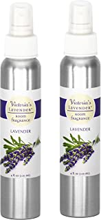 Sponsored Ad - Victoria's Lavender Room Spray All-Natural Home Fragrance 100% Pure Essential Oil Air Freshener Odor Elimin...
