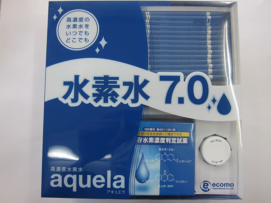 バラ色一緒不一致アキュエラ 水素水7.0ppm スターターセット