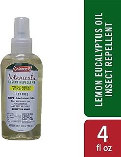 Coleman Lemon Eucalyptus Naturally-based Deet Free Insect Repellent - 4 oz Bottle