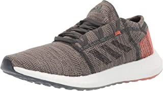 adidas Men's Pureboost Go Running Shoe, Black/Grey/Grey, 10 M US