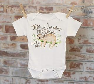 49ee5d86d This Is What Milk Coma Looks Like Sloth Onesie®, Cute Onesie, Funny Onesie