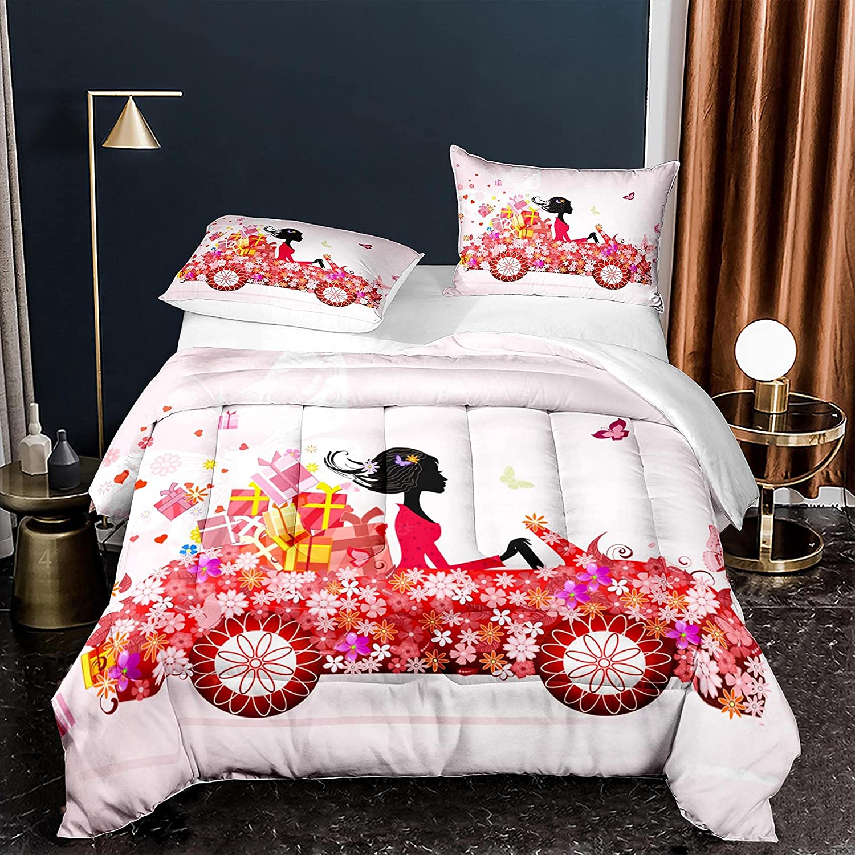 Bodhi Butterfly Comforter Set Twin Microfiber 5 ☆ very popular Size Soft Reversib low-pricing