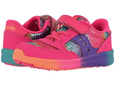 Saucony Kids Originals Jazz Lite (Toddler/Little Kid) (Rainbow Glitter) Girls Shoes