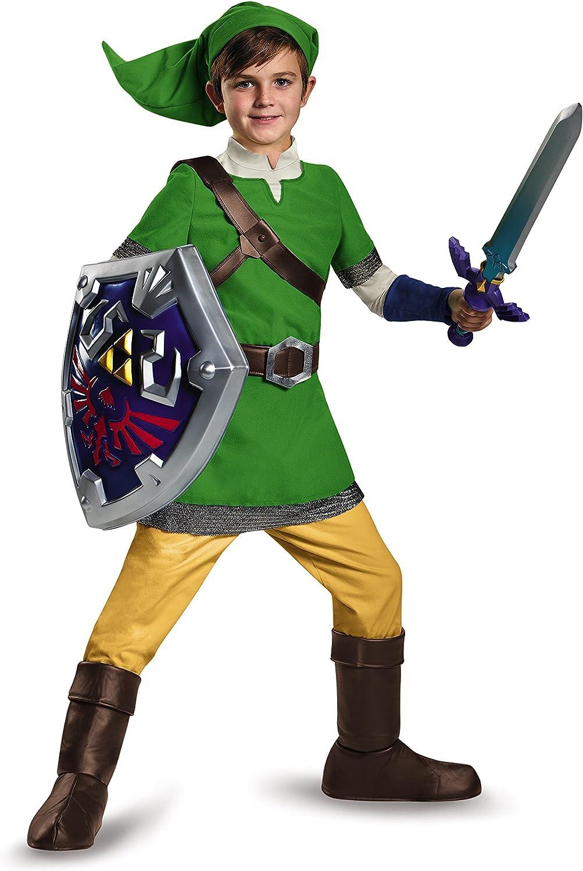 Kinder Legend of Zelda Link Schwert Und Scheide Zubehörteil - Einheitsgröße Schild