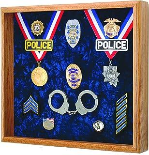 Law Enforcement Memorabilia Shadow Box Display - 20