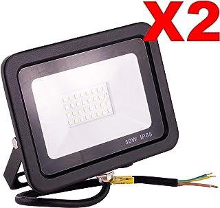 POPP® Foco Proyector LED 30W para uso Exterior Iluminación