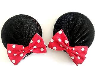 mickey ear hair clips