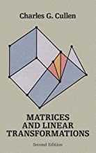 Matrices and Linear Transformations: Second Edition (Dover Books on Mathematics) (English Edition)