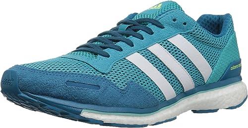 Adidas Wohommes Adizero Adizero Adios w FonctionneHommest chaussures, bleu blanc Energy Aqua, 11 Medium US  vente discount