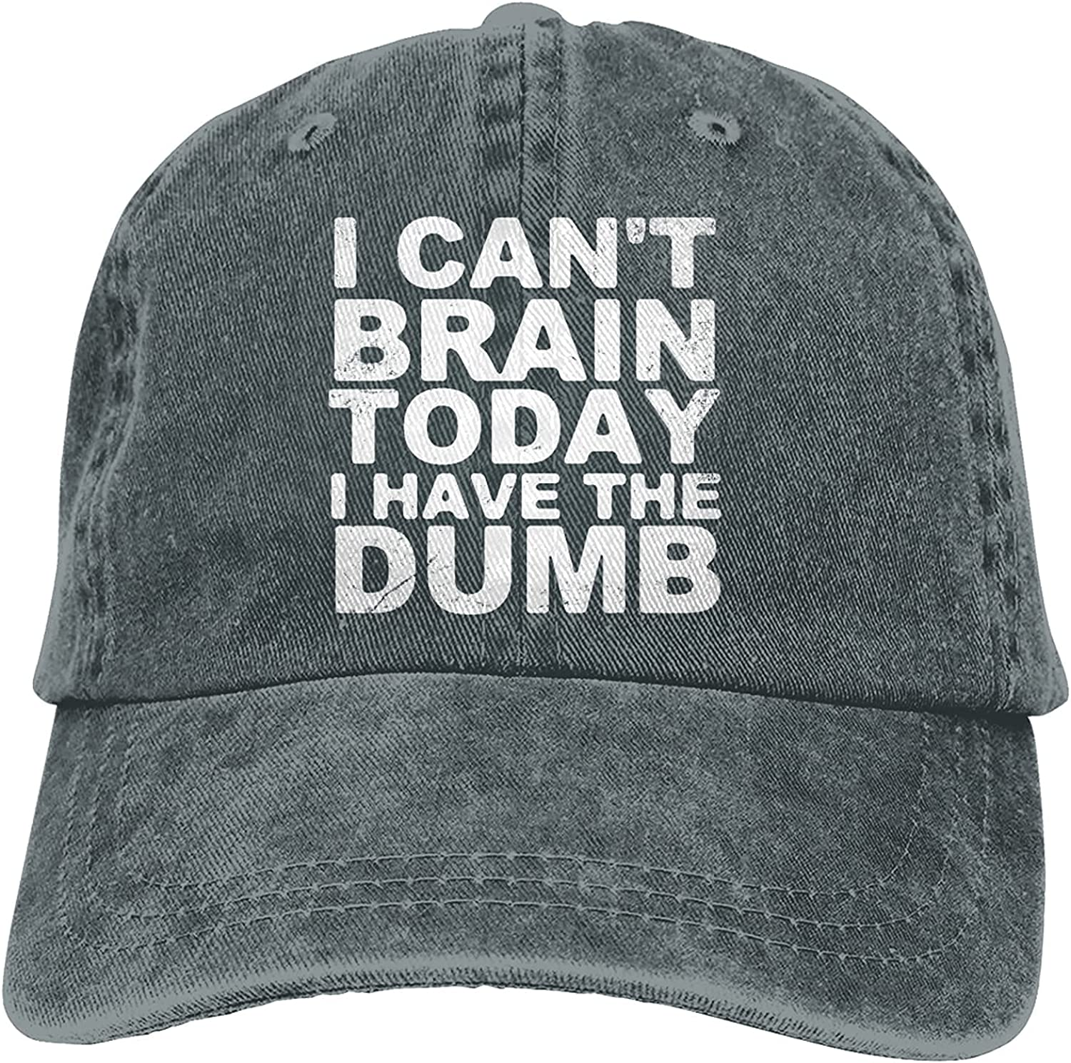 Ranking TOP5 I Can't Brain Today Have Fort Worth Mall The Ret Dumb Trucker Baseball Cap Hat