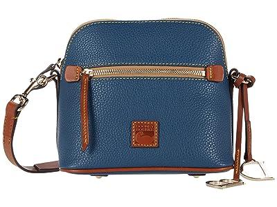 Dooney & Bourke Pebble Domed Crossbody (Jeans) Handbags