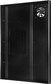 Calentador solar de aire Nakoair Colector OS22 (Negro) 550W Acondicionador Ventilador de extracción Secador Panel de calefacción de espacios Deshumidificador Bomba de calor Agua de ventilación